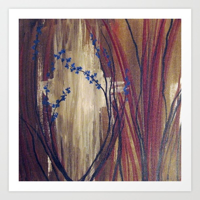 For the Trees Art Print by Jen Posford - $18.00
