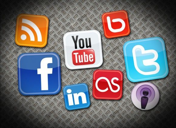 Different social media sites