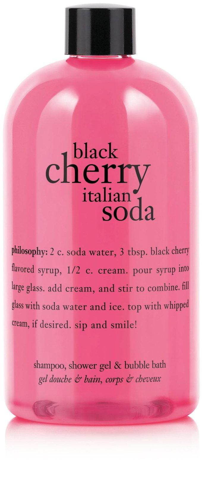 Philosophy Black Cherry Italian Soda Gel