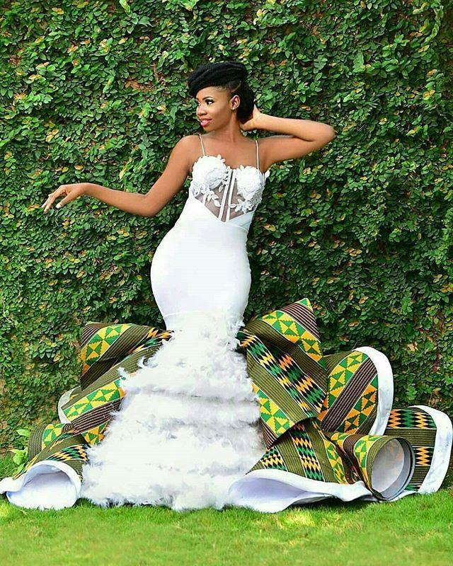 Wedding Dress African Wedding Attire African Traditional