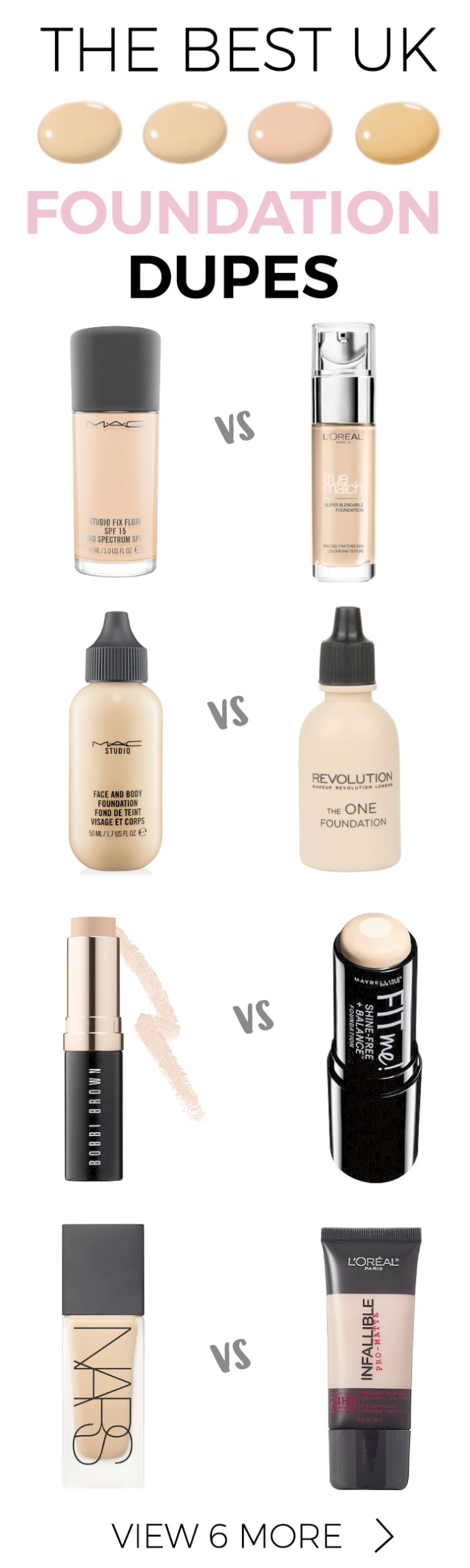 Look what I found > Makeup Revolution Stick Foundation