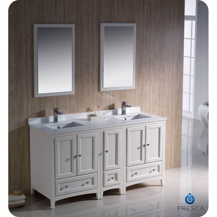 60 Inch Bathroom Vanity Double Sink Canada 77 best bathroom vanities images on pinterest | bathroom ideas