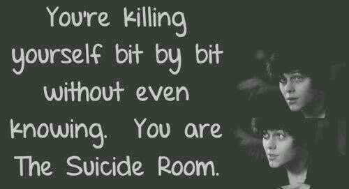 suicide room quotes - Google Search