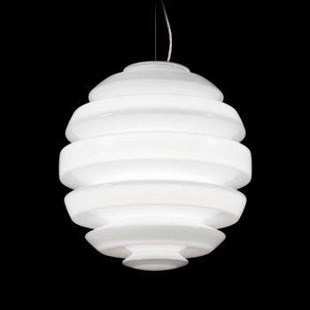Kundalini Honeymoon Small Ceiling Pendant Light in White - Kundalini from Arrow Electrical UK