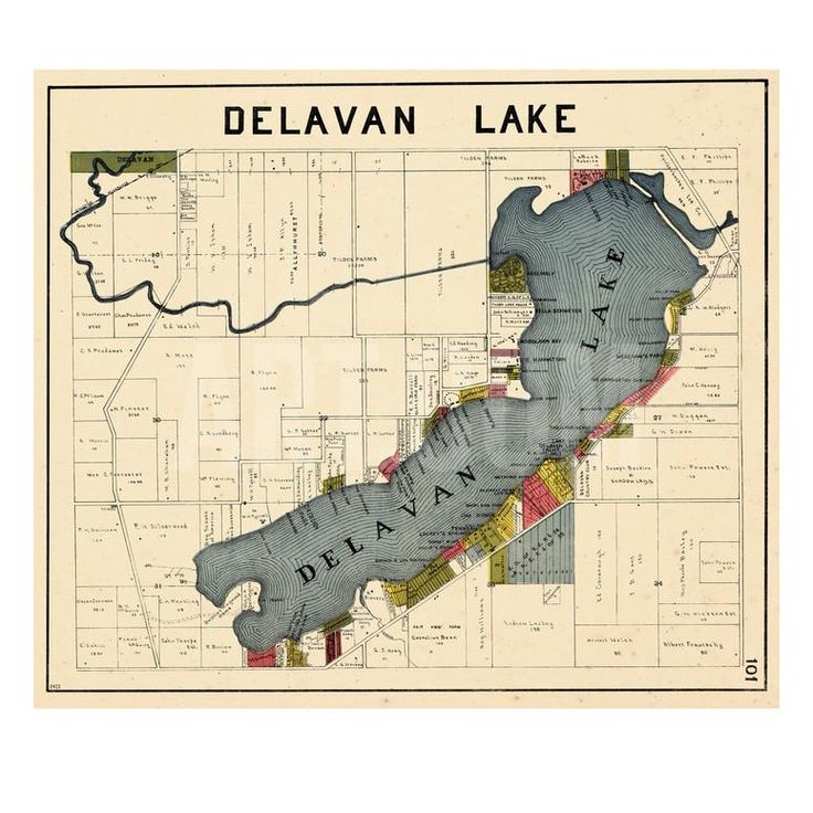 lake delavan giants