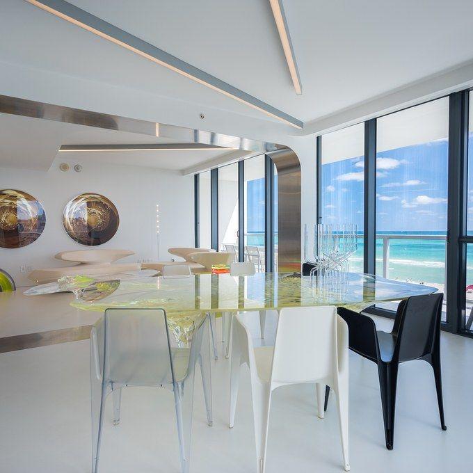 Zaha Hadid's Miami residence