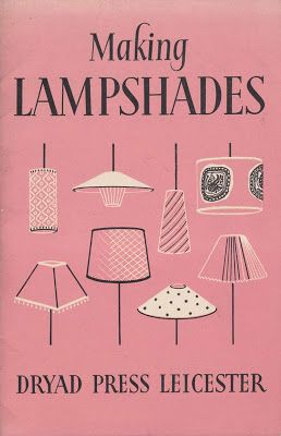 Great Mid century modern Lampshades book #wishihadit