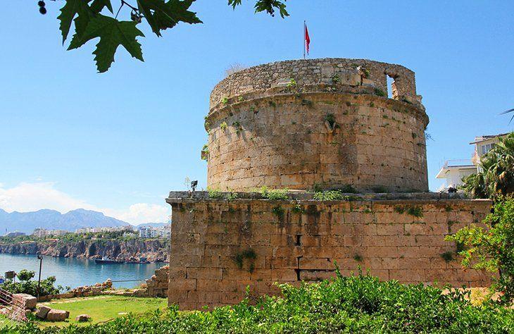Roman Fortress (Hıdırlık Kalesi) | Tourist, Tourist attraction ...