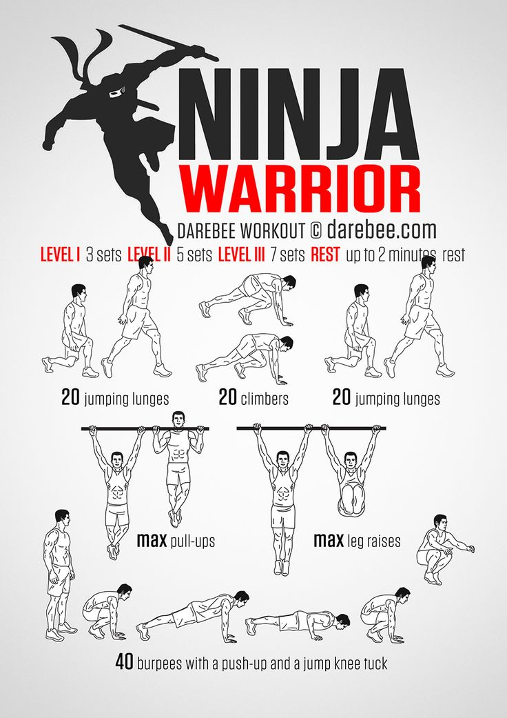 Ninja Warrior Workout                                                                                                                                                      More