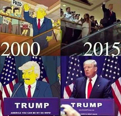 Donald Trump y Los Simpson: La realidad alcanza a la ficción una vez mas  Los Simpson lo predijeron y Peter Griffin mantuvo una polémica conversación con él...  No te pierdas al flamante presidente de los Estados Unidos Donald Trump en LOS SIMPSON y PADRE DE FAMILIAMIÉRCOLES 9 DE NOVIEMBRE A LAS 21.30 HS. EN FOX Hoy a las 21.30 hs. FOX presenta Bart to the Future el episodio de Los Simpson del que el mundo entero está hablando. Bart puede ver un fragmento del futuro en el que Lisa es…
