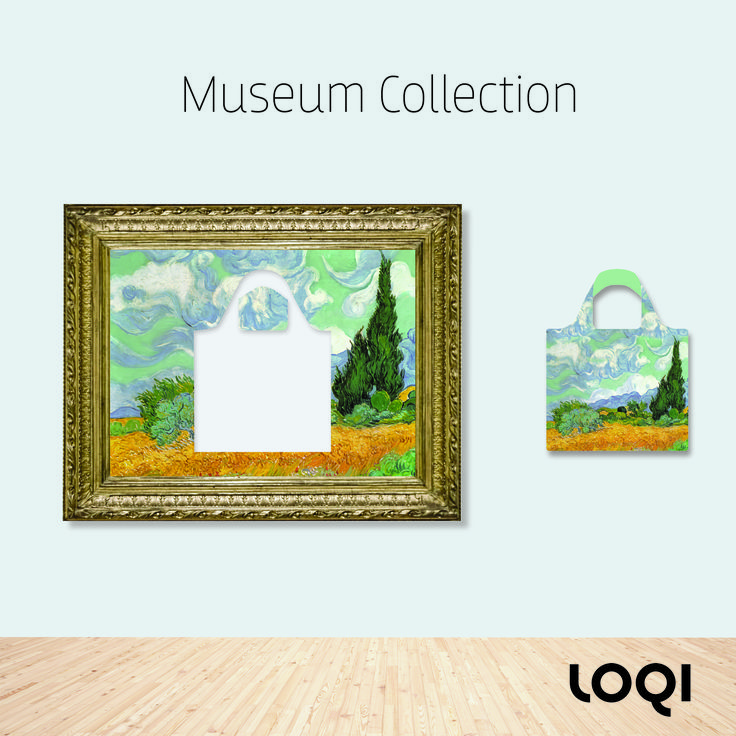 LOQI Museum Colletion.    The LOQI Museum Collection brings together finest works of art from some of the world's famous museums.    We hope to give art lovers one more way to carry their passion past the museum walls and share it far and wide.    #tgt #thegoodthings #loqi #museum #collection