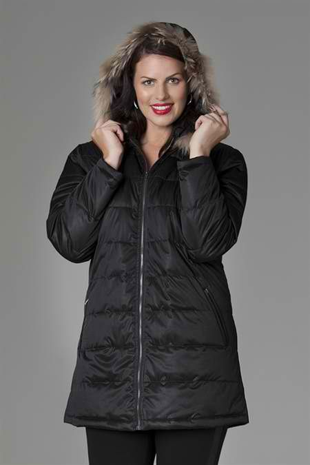 Stylish #coat to keep you nice and cozy this #winter. Great weekend jacket. #curvyfashion #wintersale 30% off http://bit.ly/puffacoat