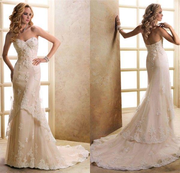 2015 новинка А линия свадебные платья с кружевными аппликациями многоуровневое тюль свадебные платья мантия де свадебная Vestido де Noiva 2015