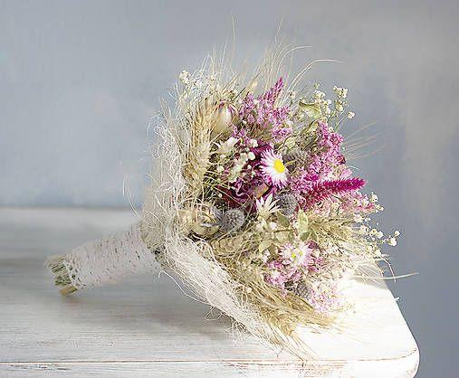 KvetinovyObchodik / Svadobná kytica Zimná romanca