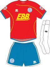 Aldershot Town FC Football Kits 2011-2013 Home Kit