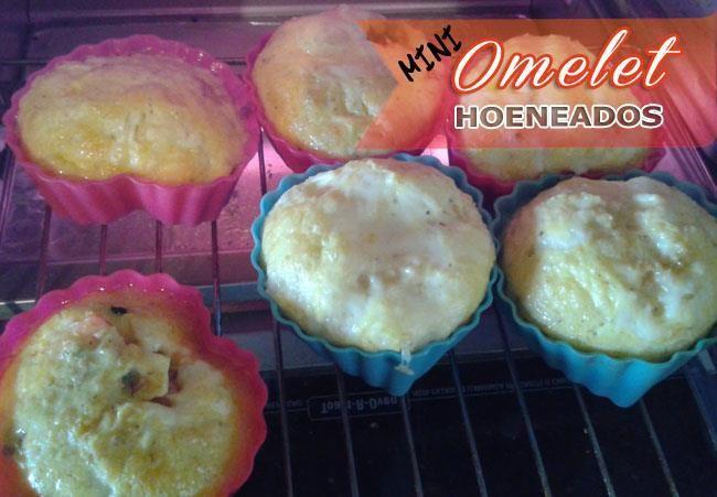 Mini Omelet Horneados