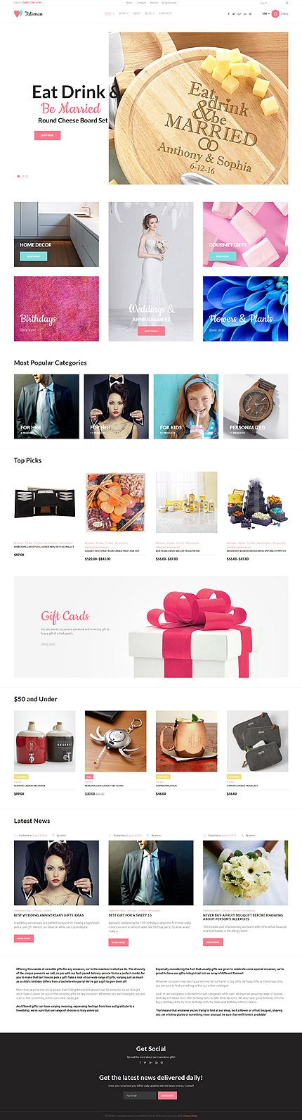 Wedding Catering & Services Online Store #WooCommerce #template. #themes #business #responsive #WooCommercethemes