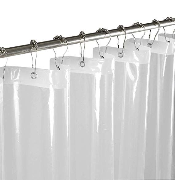 Amazon Com Mrs Awesome Clear Shower Curtain Or Liner Peva Mold
