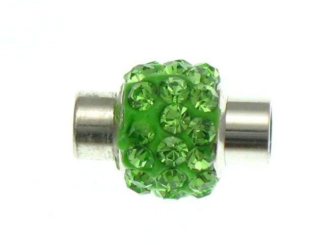 Zapięcie Magnetyczne Shamballa Disco Ball Zielony do Wklejania 14x9mm 1szt 3,99 zł - Półfabrykaty do biżuterii \ Półfabrykaty \ Zapięcia \ Magnetyczne Półfabrykaty do biżuterii \ Półfabrykaty \ Zapięcia \ Do wklejania - MarMon.com.pl