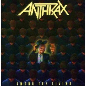 Back in the 80's metal bands had some of the most amazing album artwork. Anthrax - Among The Living