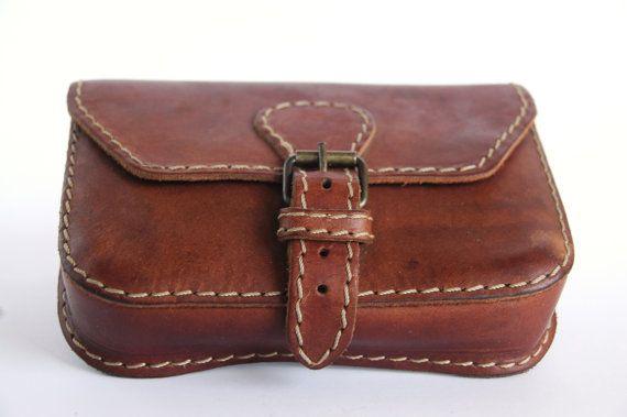 Oil tan leather belt bag leather belt bag by leatherandnatural
