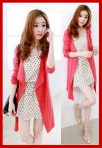 Mini dress korea modern dan cute KK203