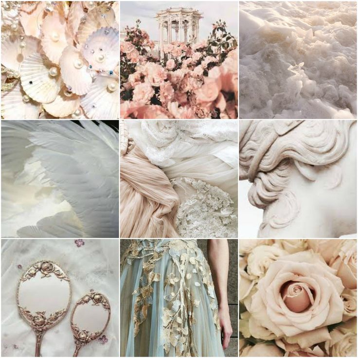 Aesthetic Aphrodite Mood Board