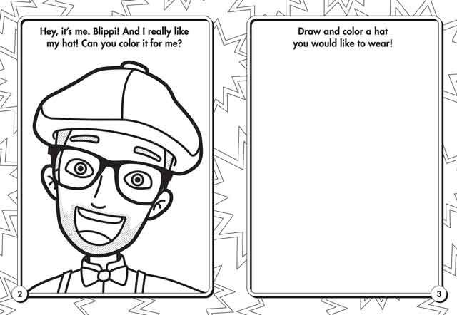 10 Best Free Printable Blippi Coloring Pages For Kids In 2020 Coloring Pages Coloring Books Coloring Pages For Kids