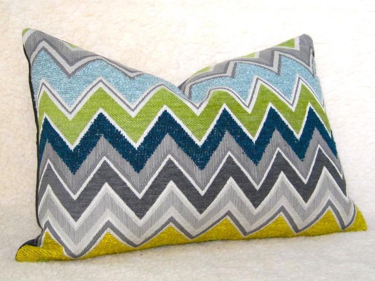 Schumacher Zenyatta Mondatta Designer Pillow by WillaSkyeHome