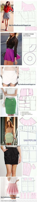 DIY Stylish Skirts DIY Projects   UsefulDIY.com na Stylowi.pl