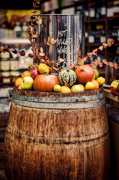 Hot mulled wine, Borough Market, London, U.K.  Photo: Heather Applegate