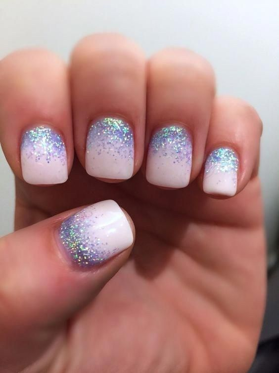 Seasonal Winter Nail Art Design Ideas 09 #shortnaildesigns