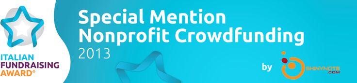 Special Mention Nonprofit Crowdfunding, Vidas è tra i finalisti. Aiutaci con una donazione o un abbraccio (un semplice commento) su http://www.shinynote.com/story/accanto-a-chi-soffre-669