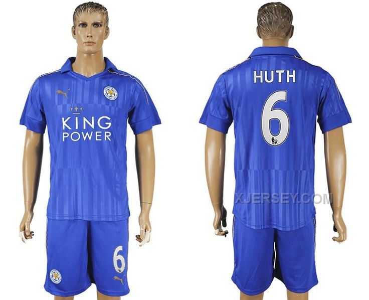 http://www.xjersey.com/201617-leicester-city-6-huth-home-soccer-jersey.html 2016-17 LEICESTER CITY 6 HUTH HOME SOCCER JERSEY Only $35.00 , Free Shipping!