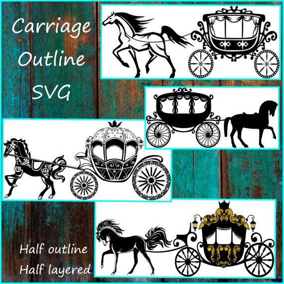 Transporte SVG  princesa transporte Svg  caballo y