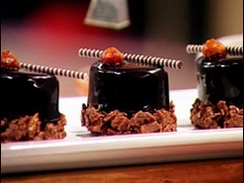 Mousse de chocolate Método Gross. Mini Gateaux - Óvalos de avellanas - YouTube