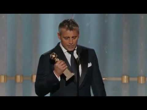 Matt LeBlanc winning a Golden Globe 2012 HQ - YouTube