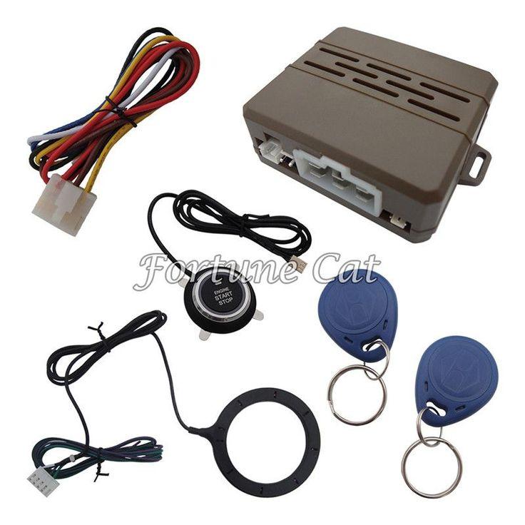 RFID Car Alarm System/Super Car Engine Push Start Button/Push Button Engine Start Stop System/Keyless entry keyless go