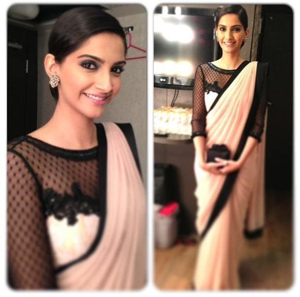 Sonam Kapoor in Atsu.  This white gal would wear it to some place fancy.