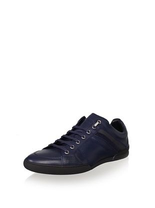 Dior Men's Homme Leather Sneaker (Blu/Grigio)