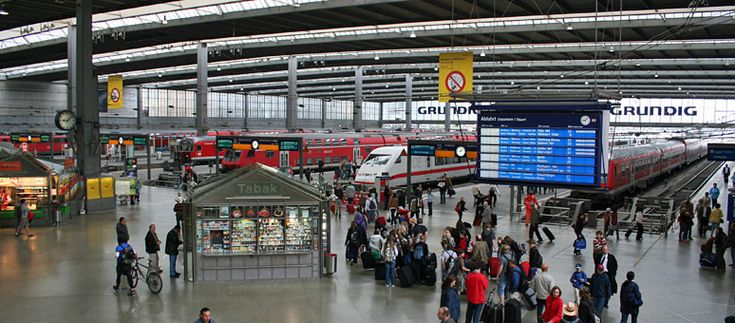 how to get from munich airport to train station