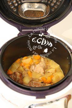 Filet Mignon aux légumes - Cookéo Plus