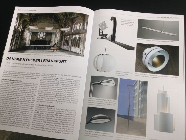 oneA Denmark In their lastest publication the Danish magazine LYS (LIGHT) has highlighted oneA as this years Danish news-worthy name. Mentioning both their presence at the Light & Building fair in Frankfurt and their involvement in the prestigious Bestseller project on the harbour in Aarhus.