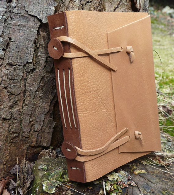 Leather Diary - Replica Medieval Limp Leather Book Structure