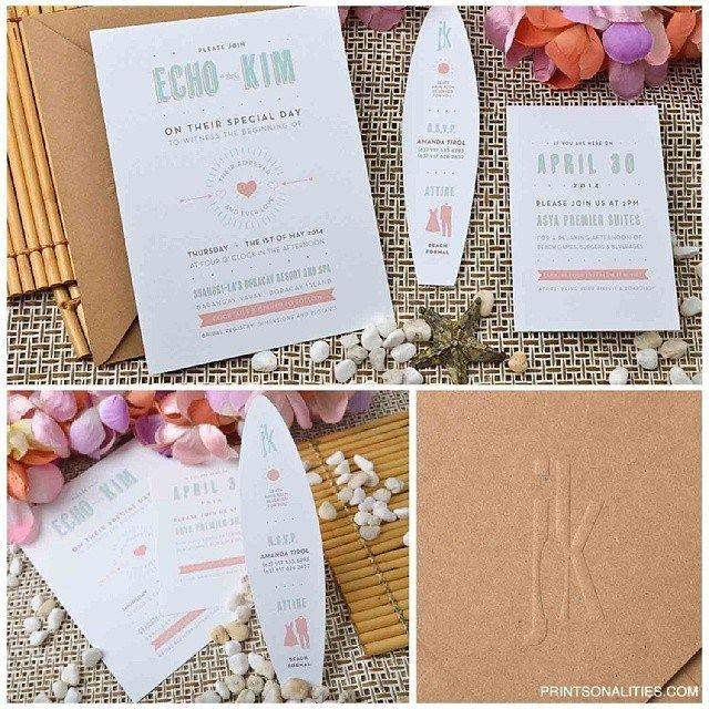 surf wedding invitations - Google Search