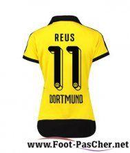 Maillot Du Dortmund BVB Jaune Femme REUS 11 Domicile 15 2016 2017 Pas Chere