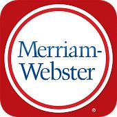 Dictionary - Merriam-Webster - In addition to all the definitions from Merriam-Webster's Collegiate Dictionary, this app offers voice search – to let you look up a word without having to spell it – along with synonyms, antonyms, example sentences, Word of the Day, and more. It's a great tool for reference, education, and vocabulary building.
