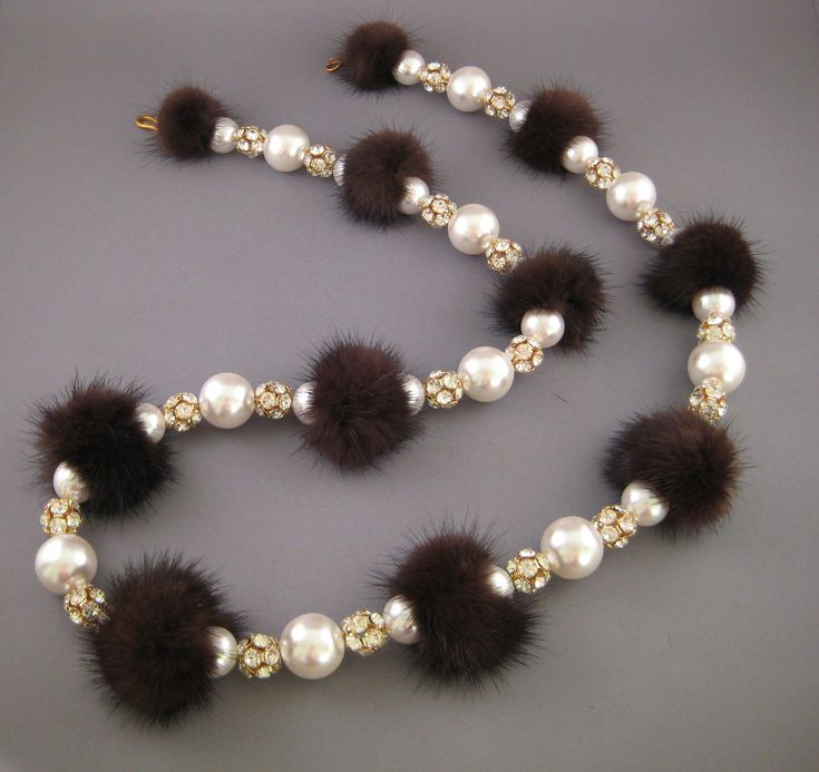 fur jewelry - Google Search
