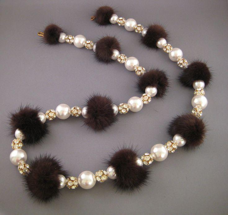 fur jewelry - Google Search