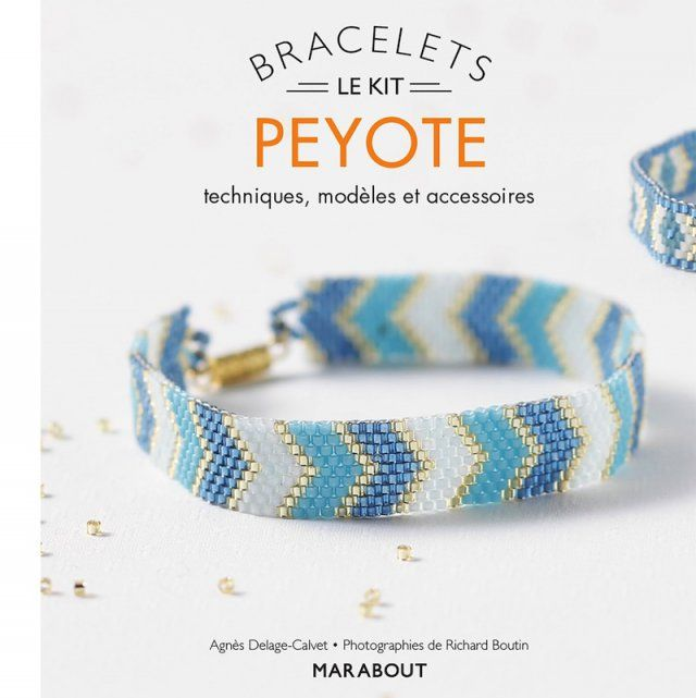 Kit de bracelets peyote chez Marabout